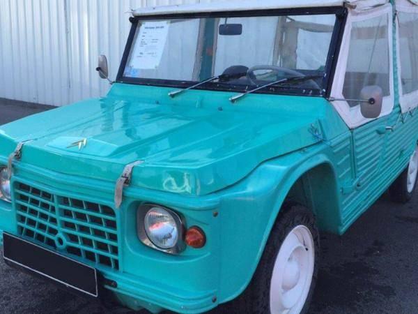 Méhari Ancien Modèle turquoise (1971)