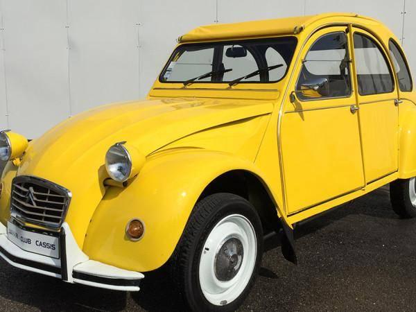 2CV6 Spéciale jaune (1984)