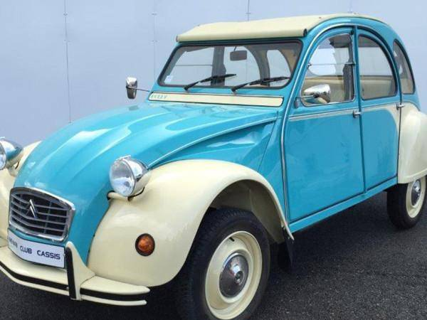 2CV6 Dolly turquoise et Yellow (1978)