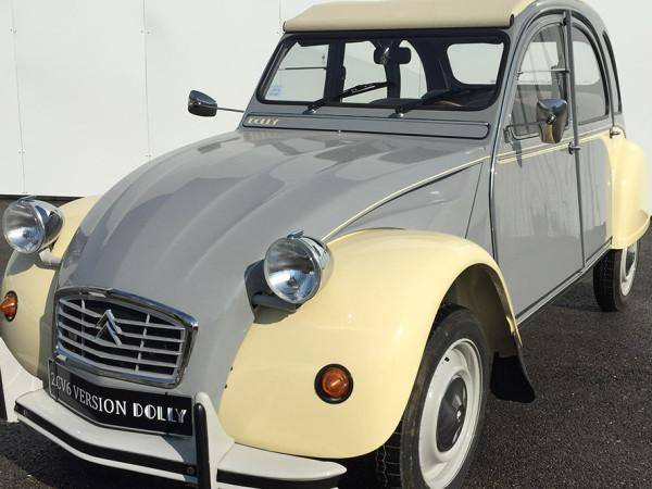 2CV6 Dolly grey and beige (1979)