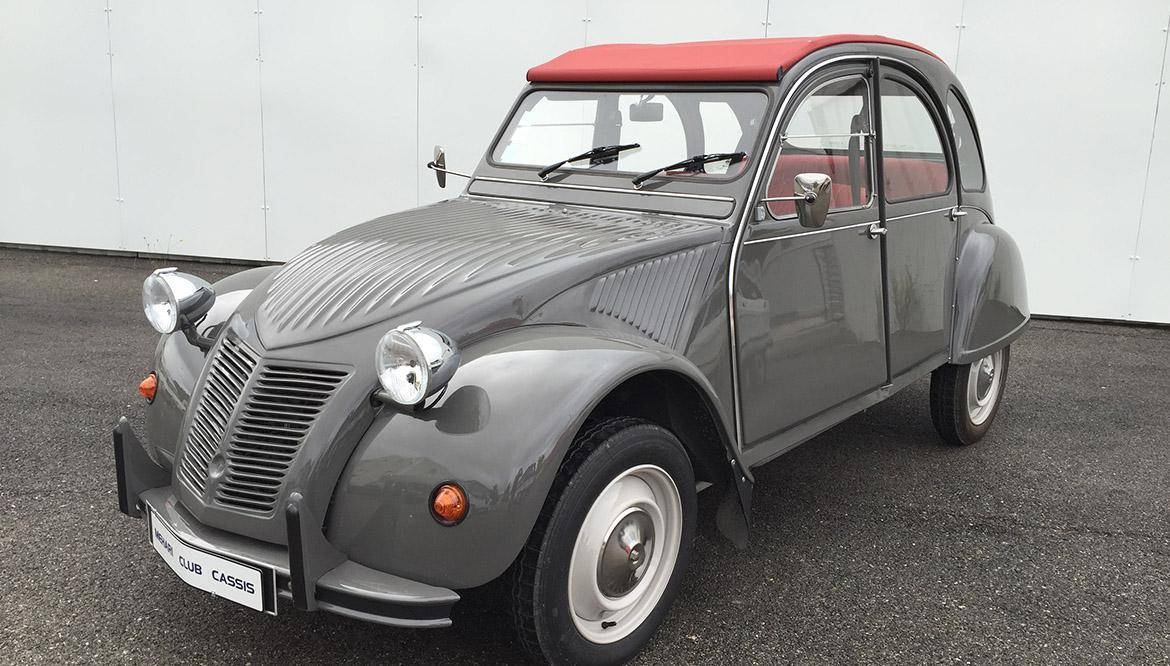 2cv6 dolly grise 1979 mehari 2cv club cassis. Black Bedroom Furniture Sets. Home Design Ideas