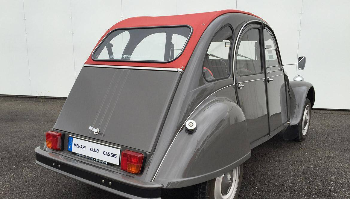 2cv6 grey dolly 1979 mehari 2cv club cassis. Black Bedroom Furniture Sets. Home Design Ideas