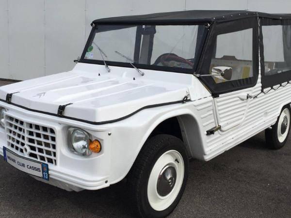 Méhari Older Model White (1972)