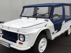 Méhari Nouveau Modèle blanche et bleue (1987)