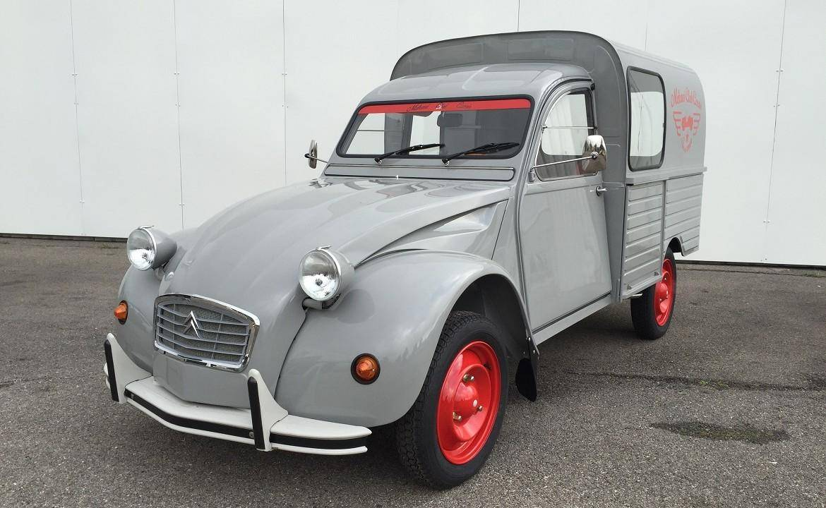 2cv fourgonnette gris cormoran 1971 mehari 2cv club cassis. Black Bedroom Furniture Sets. Home Design Ideas