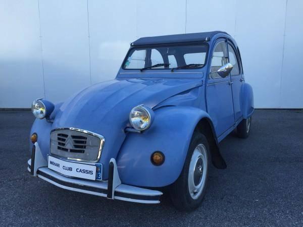 2cv6 Spéciale Bleue (1987)