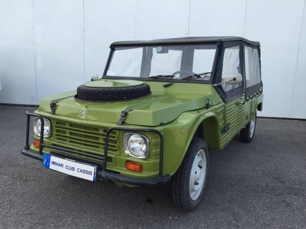 Méhari 4×4 Vert Montana (1983)