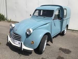 2cv Fourgon Bleue (1972)- 7714026